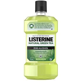 Nước Súc Miệng Trà Xanh Listerine Natural Green Tea (750ml)