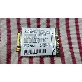 Card wwan 4G HP LT4111 - Model EM7355 dùng cho laptop HP 820 G1,840 G1, 850 G1, Zbook 15, 17 - Hàng nhập khẩu