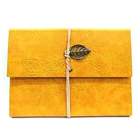 Sổ Leaf Notebook - Màu Vàng