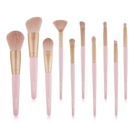 10Pcs Makeup Brushes Set Powder Foundation Brush Lip Cosmetic Beauty Make Up Brushes Tool Blush Blending Eyeshadow Brush