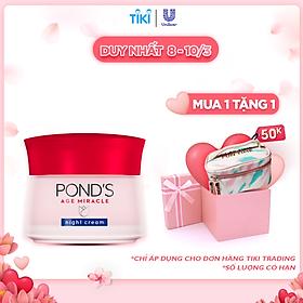 Kem Ngăn Ngừa Lão Hóa Pond's Age Miracle Ban Đêm (50g)