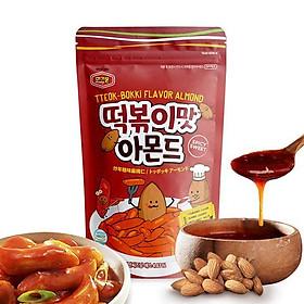 Hạnh nhân Hàn Quốc chính thống Murgerbon vị bánh gạo chiên cay - 200g