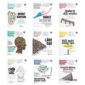 Combo HBR On Point - Ấn Phẩm Dành Cho Doanh Nhân Và Quản Lý: Chiến Lược + Lãnh Đạo + Marketing Chiến Lược + Truyền Thông Giao Tiếp + Đổi Mới Sáng Tạo + Quản Lý Bản Thân + Quản Lý Đội Nhóm + Quản Lý Sự Thay Đổi + Ra Quyết Định Thông Minh