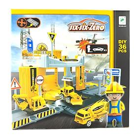Bộ Đồ Chơi Mô Hình Công Trường Xây Dựng Và Xe Boy Toys 660-A79