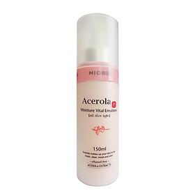 Sữa dưỡng trắng sáng da Niobe Acerola Moisture Vital Emulsion