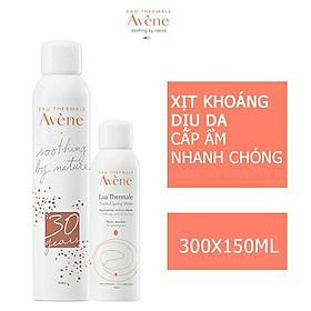 Combo 2 Nước Xịt Khoáng Avene Thermal Spring 300ml + 150ml