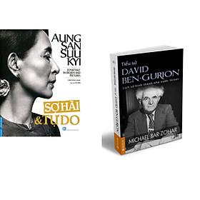 Combo 2 cuốn sách: Aung San Suu Kyi - Sợ Hãi & Tự Do + Tiểu Sử  Ben-  Gurion