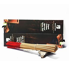 Nhang trầm cao cấp 30cm Hoàng Giang- tinh hoa Trầm việt (50 cây/ hộp)