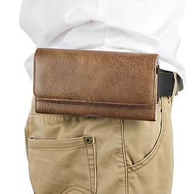 Bao da đeo ngang hong đựng điện thoại 5-6.2 inch - DT28A
