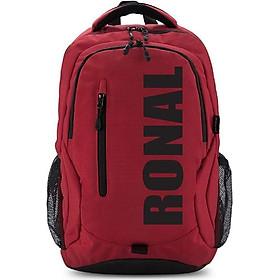 "Ba Lô Ronal BL89 - Đỏ in logo Đen - Laptop 14"""