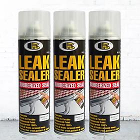 Combo 3 chai Sơn xịt chống dột chống thấm Leak Sealer B125 Bosny - 600ml - Nhập khẩu Thái Lan.