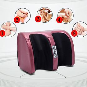 Máy massage bàn chân, máy mát xa bấm huyệt bàn chân an toàn giúp lưu thông khí huyết cho giấc ngủ ngon.