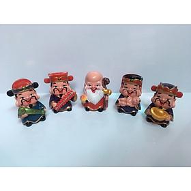 Hình đại diện sản phẩm Bộ tượng 5 ông thần may mắn - Phúc Lộc Thọ Tài Hỷ