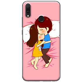 Ốp lưng dành cho Huawei Y9 (2019) mẫu Ôm nhau ngủ