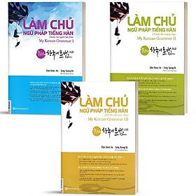 Sách Làm Chủ Ngữ Pháp Tiếng Hàn - My Korean Grammar (Combo 3 quyển, lẻ tùy chọn) ( Tặng kèm bookmark thiết kế )