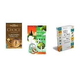 Combo 3 cuốn sách: Lựa Chọn Nhiệm Màu + Những Điều Tuổi trẻ Thường Lãng phí + Hãy Sống Cuộc Đời Như Bạn Muốn