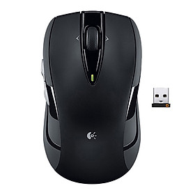 Logitech M545 2.4GHz Wireless Mouse with USB Unifying Receiver Plug and Play Ergonomic Optiacal Mouse 1000DPI with