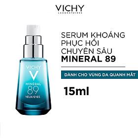 Vichy Minéral 89 Eyes - Kem Xoá Tan Bọng Mắt Cùng Với Nếp Nhăn 15ml