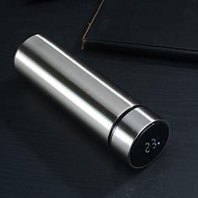Bình giữ nhiệt nhỏ gọn 500ml, có đèn Led báo nhiệt độ - thích hợp mang theo đi học, đi làm, picnic.
