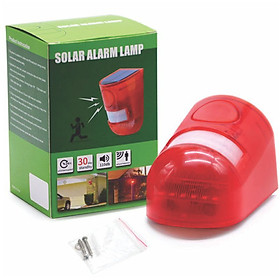 Đèn báo động chống trộm bằng năng lượng mặt trời