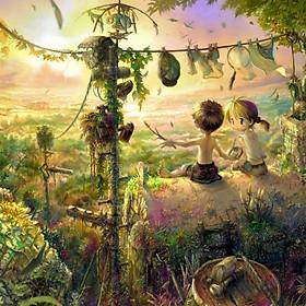 Tranh ghép hình 1000 mảnh gỗ - Cậu bé rừng xanh