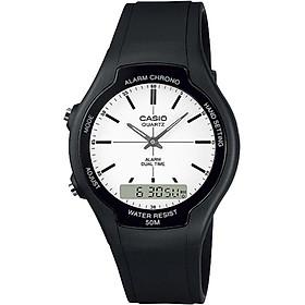 Đồng hồ nam dây nhựa Casio AW-90H-7EVDF