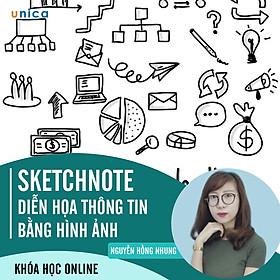 Khóa Học Sketchnote - Diễn Họa Thông Tin Bằng Hình Ảnh