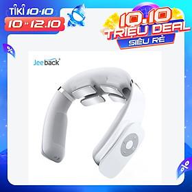 Jeeback G3 Massage cổ không dây điện với hàng chục xung 360 ° nổi 4 đầu Máy rung Công cụ massage cổ tử cung