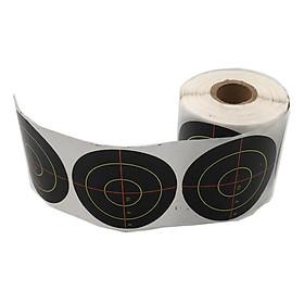 250pcs Shooting Targets Reactive  Adhesive Paper Targets