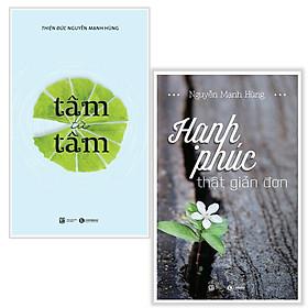 Combo tự tạo hạnh phúc : Tâm từ tâm + Hạnh phúc thật đơn giản - Tặng kèm bookmark thiết kế