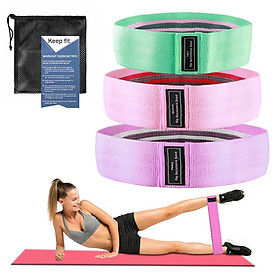 3PCS Deep Squat Resistance Band Yoga Pull Stretch Auxiliary Band Leg Trainer Assisted Elasticity Band