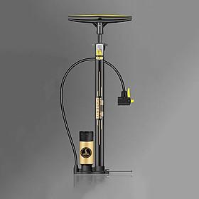 Bơm hơi xe đạp, xe máy, bơm bóng áp lực 150PSI 2 đầu van thay thế