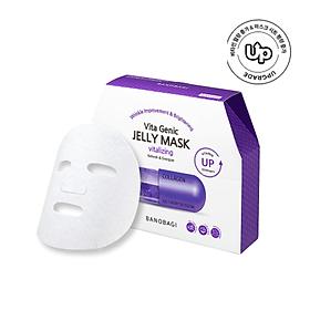 Hộp 10 Mặt nạ dưỡng da BANOBAGI VITA GENIC JELLY MASK VITALIZING cung cấp collagen và dưỡng chất chăm sóc da