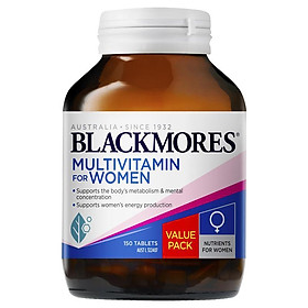 Blackmores Multivitamin for Women 150 Tablets Exclusive