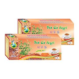 Combo 3 Hộp Trà Cỏ Ngọt Cho Người Tiểu Đường (Hộp 50 Túi Lọc X 2g)- Nguyên Thái Trang – Thảo Dược Thiên Nhiên – Tốt Cho Sức Khỏe