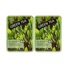 2 Mặt nạ dưỡng chất trà xanh MAY ISLAND