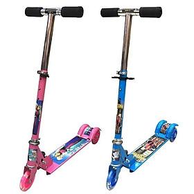 Xe Trượt 3 Bánh Scooter cho bé Trai và bé Gái - Bánh Xe Có Đèn Led Cao Cấp