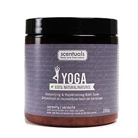 Muối Tắm Ngâm Giải Độc Yoga Serenity Detoxifying & Replenishing Bath Soak Scentuals (250g)
