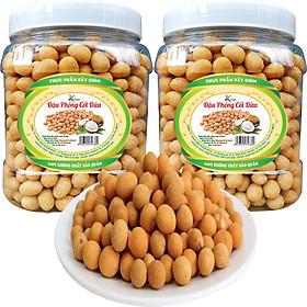 1Kg 2 Hũ Đậu Phộng Da Cá Nước Cốt Dừa Hiệu SK FOOD