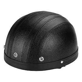 Mũ Bảo Hiểm Xe Máy Nửa Đầu Kiểu Đức