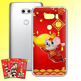 Ốp lưng điện thoại LG V30 - 01253 7964 HPNY2020 16 - Tặng bao lì xì Chúc Năm Canh Tý - Silicon dẻo - Hàng Chính Hãng