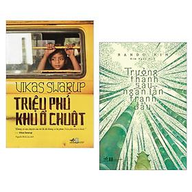 Combo 2 cuốn sách hay nhất về văn học : Triệu phú khu ổ chuột + Trưởng Thành Sau Ngàn Lần Tranh Đấu Tặng sổ tay VDT