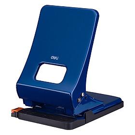 Bấm lỗ giấy vỏ kim loại Deli 143 45 tờ Đục lỗ giấy văn phòng Giao màu ngẫu nhiên