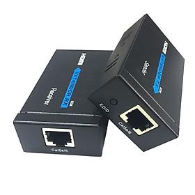 Bộ kéo dài HDMI-J45 qua dây mạng lan  50M-Cat5e/60M-Cat6