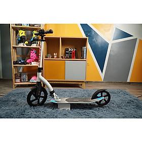 Xe trượt scooter người lớn Centosy A7 Trắng hàng chính hãng + gập được  + tăng chiều cao