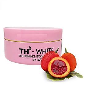 Kem dưỡng trắng da toàn thân TH White Whitening Body Lotion SPF 50 150g ( Không vỏ hộp )