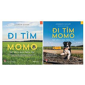 Combo Đi Tìm Momo - Tập Sách Ảnh Trốn Tìm (2 Tập)