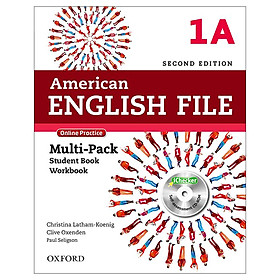 American English File 1A Multi-Pack with Online Practice and iChecker