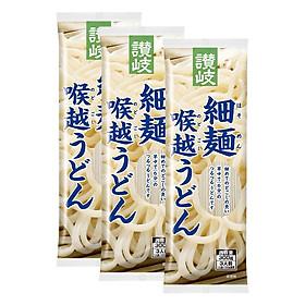 3 Gói Mì Sợi Mảnh Sanukisisei Udon Nhật Bản (300g x 3)