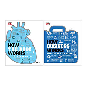 Combo 2 Cuốn How The Body Works: Hiểu Hết Về Cơ Thể  + How Business Works – HiểU HếT Về Kinh Doanh